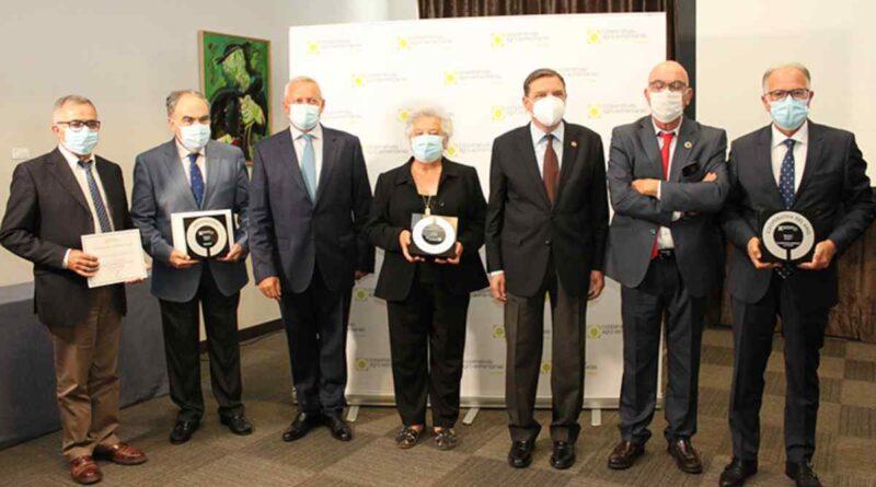 Acto de entrega de los Premios Cooperativas Agro-alimentarias